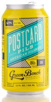 Green Bench Brewing Co Postcard Pils Image