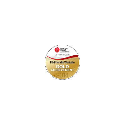 Fit-Friendly Worksite Gold Achievement Award logo