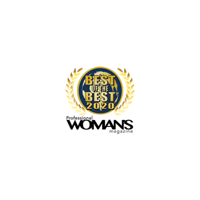 PROFESSIONAL WOMAN'S MAGAZINE award logo