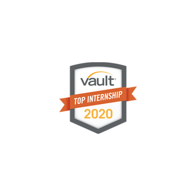 Vault Top Internship 2019 Award