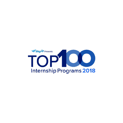top 100 internship programs logo from 2018