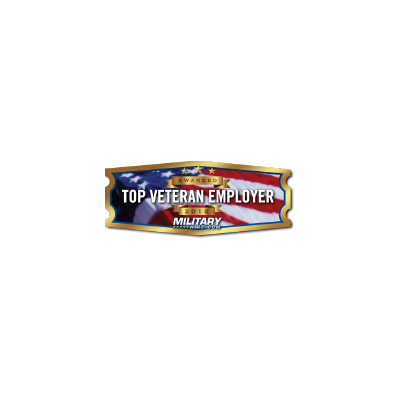 2018 top veteran employer logo