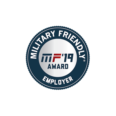 Military Friendly 2019 Award