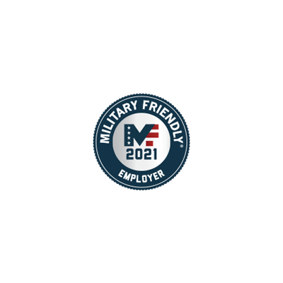 Military Friendly Employer award logo