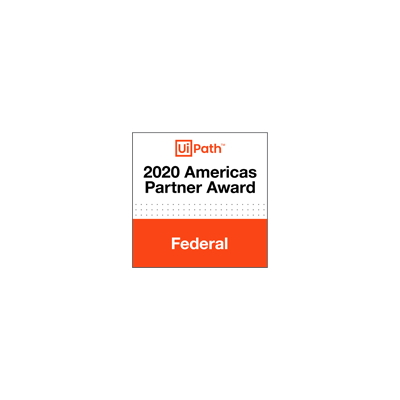 UiPath Americas Partner Awards Federal Partner of the Year