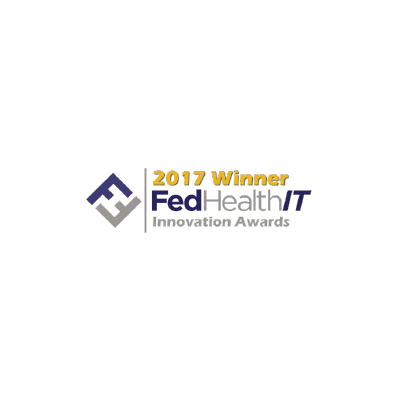 FedHealthIT Innovation Award logo from 2017