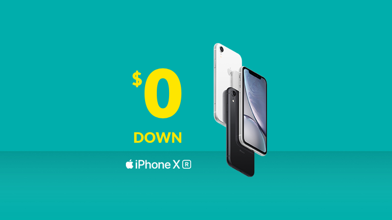 The iPhone XR from Fido