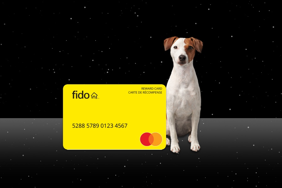 Get a Fido Mastercard Prepaid Card with select internet packages