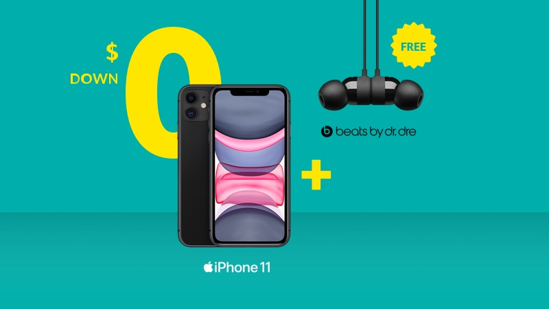 iPhone 11 + UrBeat<sup>3</sup>