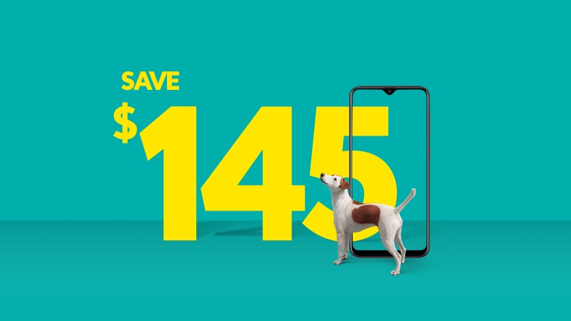 Save $145 on select devices when you buy online