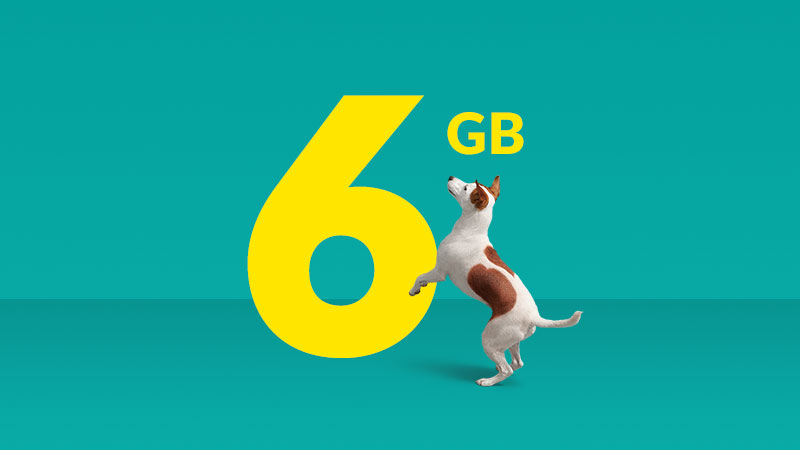 Get a 6GB plan for $50 per month