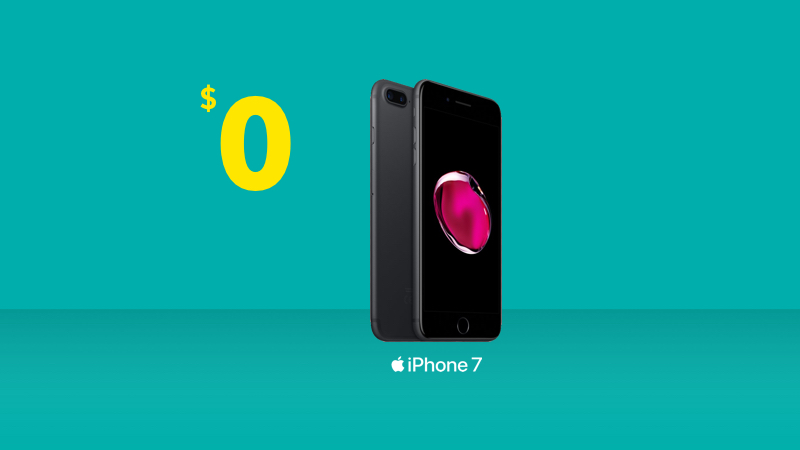 Get an iPhone 7 from Fido