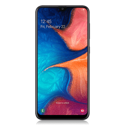 Samsung Galaxy A20 - Front