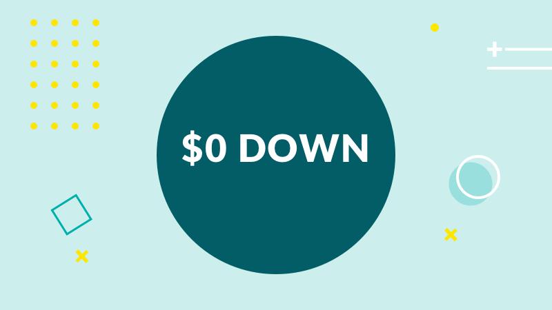 $0 Down