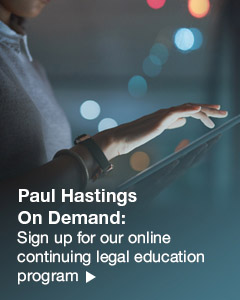 Paul Hastings on demand