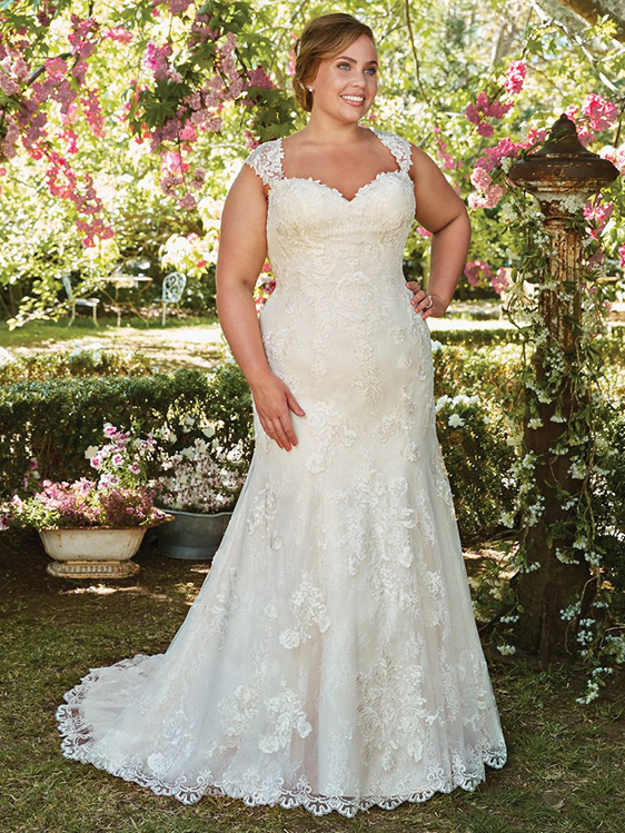 38905e42cca Plus Size Wedding Dresses and Gowns