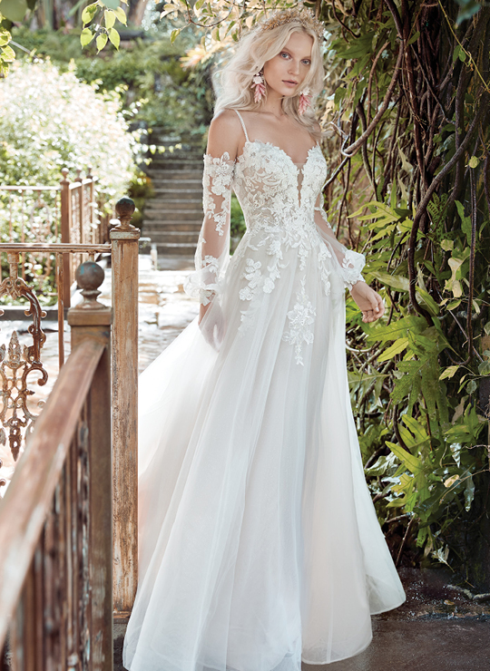 Boho Wedding Dresses By Maggie Sottero