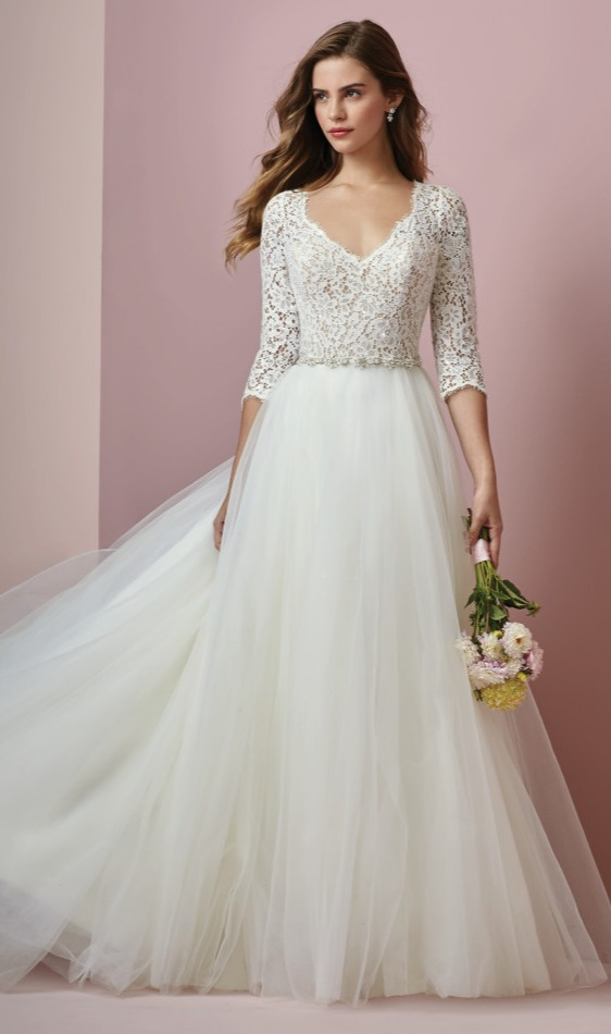 Wedding Gowns with Pearls
