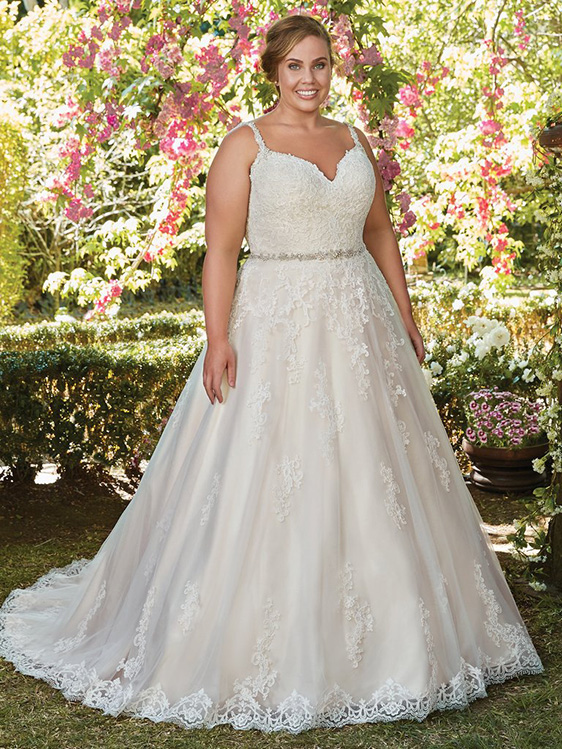 4f26eef99e6 Plus Size Wedding Dresses and Gowns