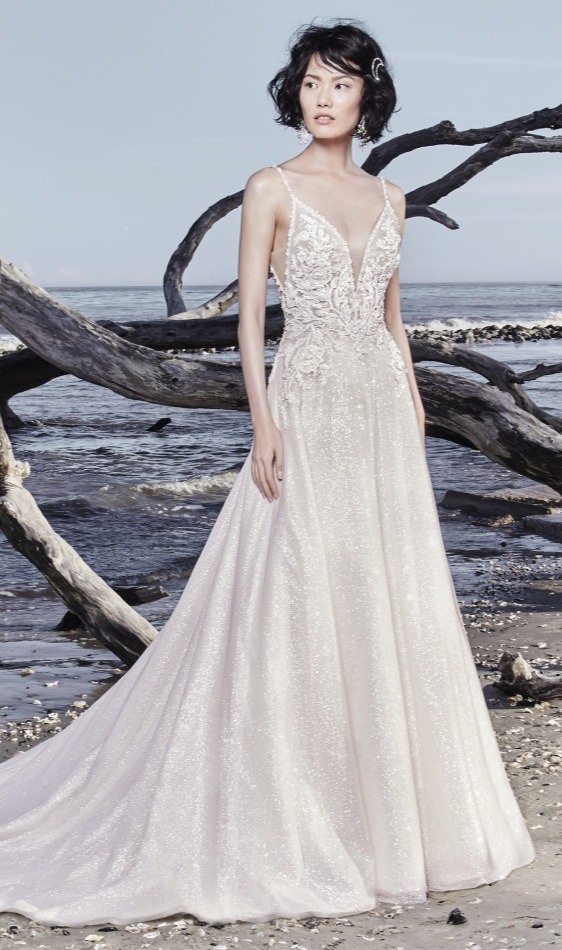2a82717d94567 Colored Wedding Dresses and Gowns by Maggie Sottero Designs