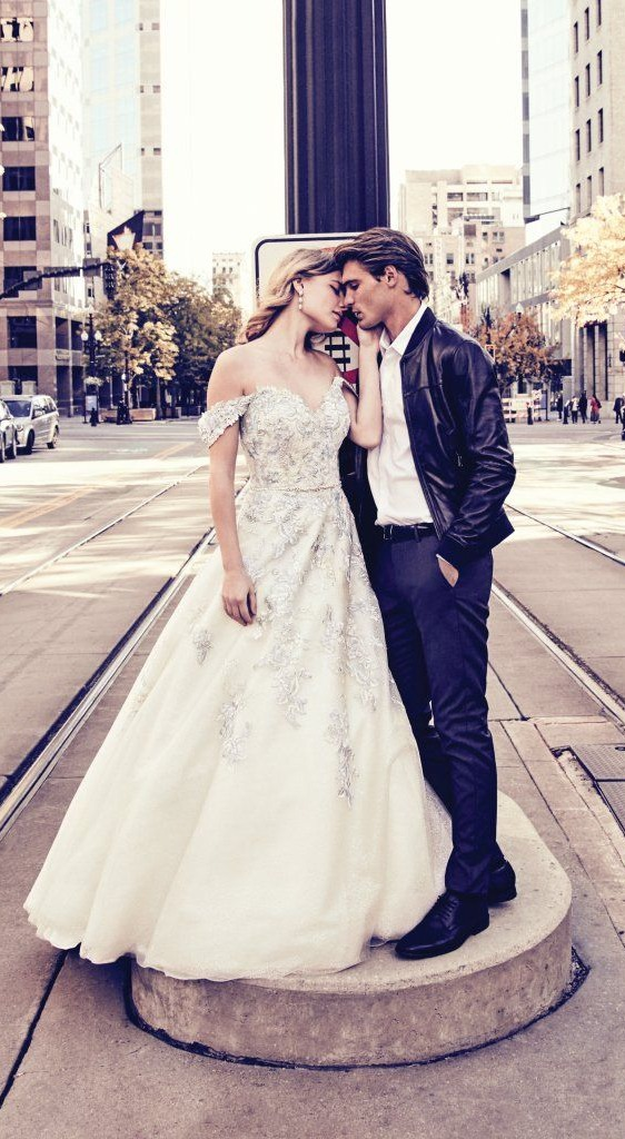 Colored Wedding Dresses And Gowns By Maggie Sottero Designs
