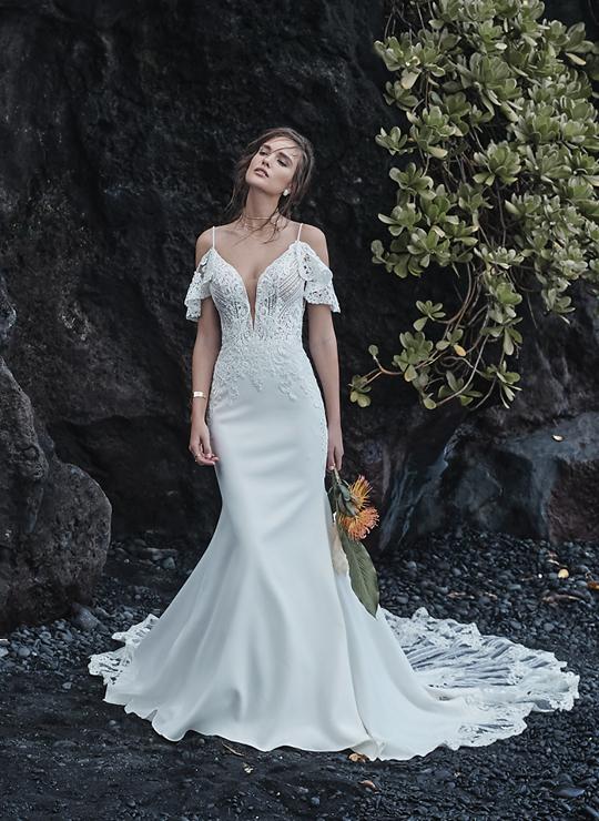 Boho Wedding Dresses By Maggie Sottero,Wedding Evening Dresses At Truworths