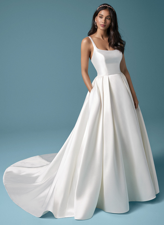 Satin Wedding Dresses Maggie Sottero