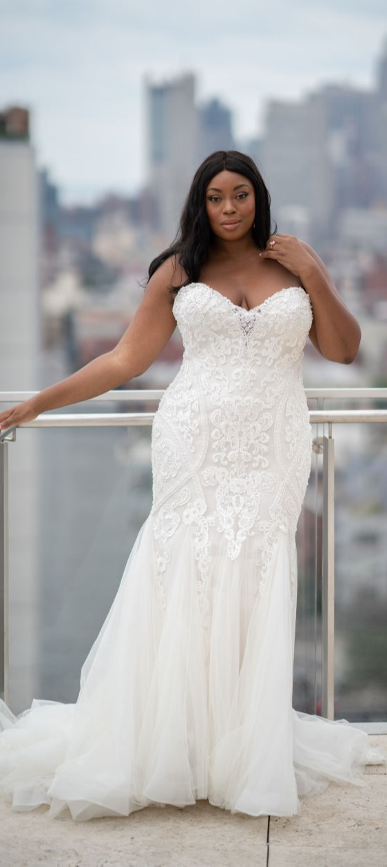 cdb8e78b873 Plus Size Wedding Dresses and Gowns