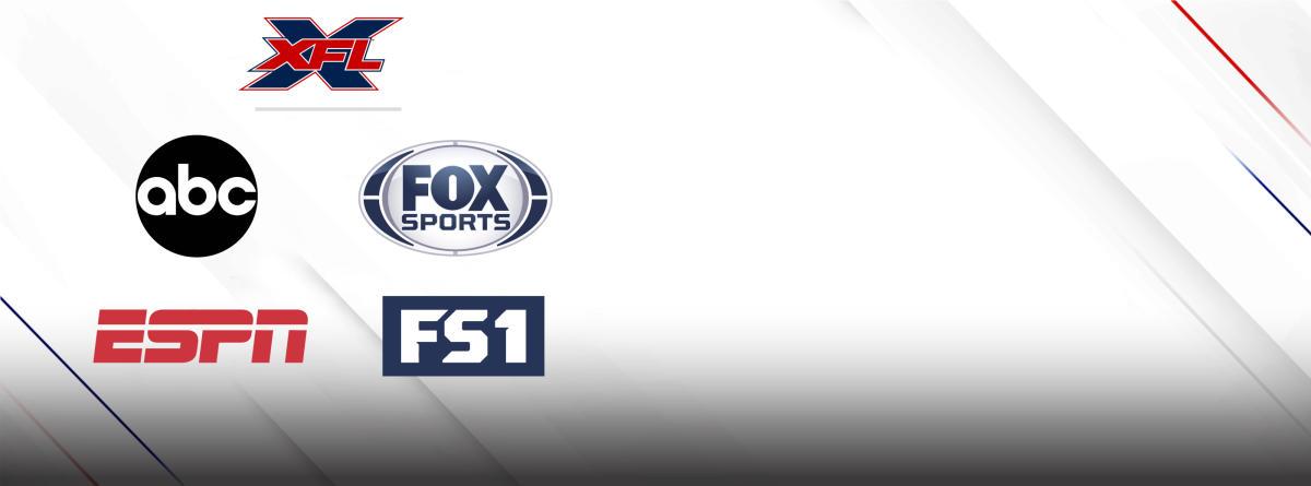 XFL TO AIR ON ABC, ESPN, FOX SPORTS AND FS1 - XFL com