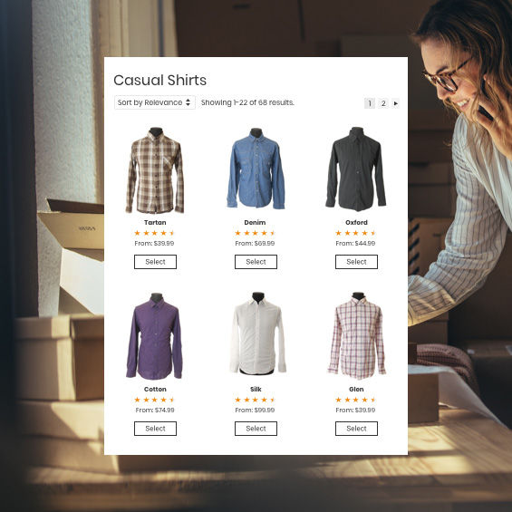 Example of WooCommerce integration in Constant Contact.