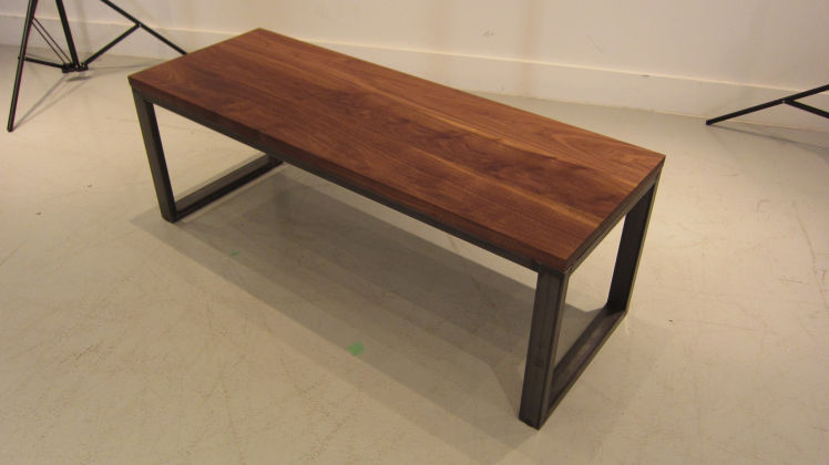Custom Metal Frame Coffee Table Stylegarage