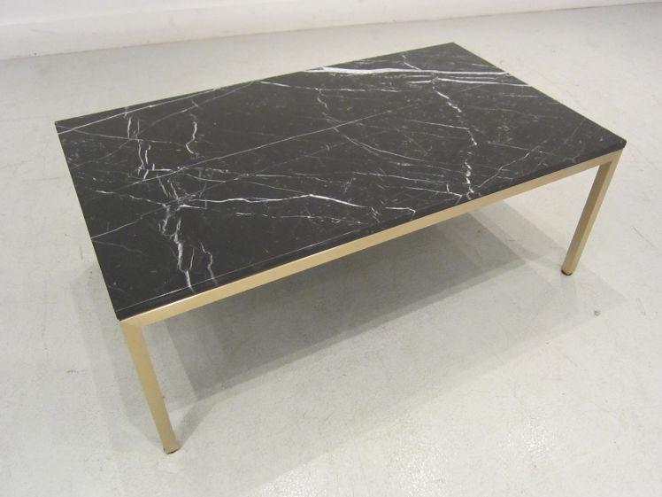 Custom Metal Frame Coffee Table