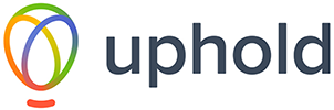 Uphold crypto exchange logo