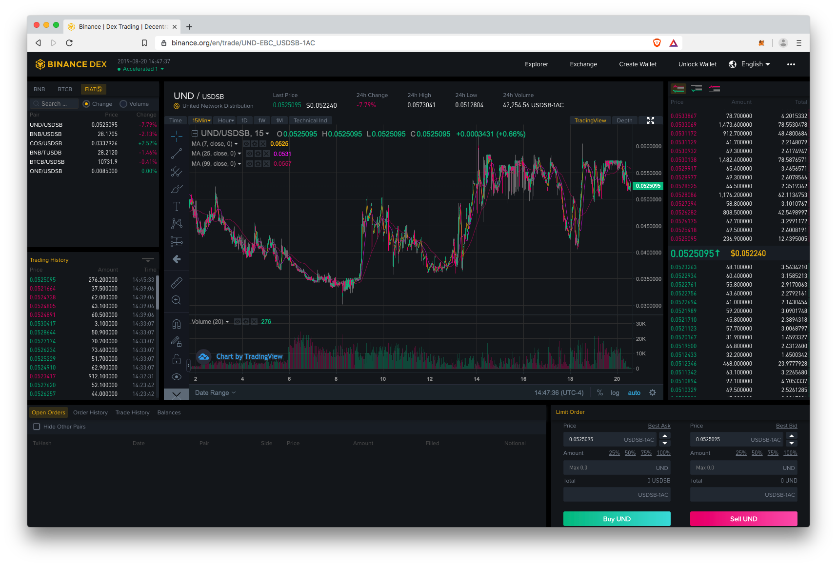Binance DEX