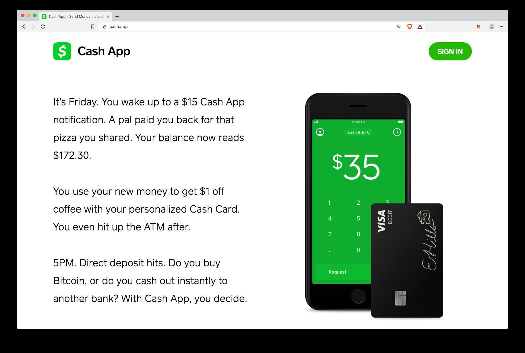 bitcoin transfer cash