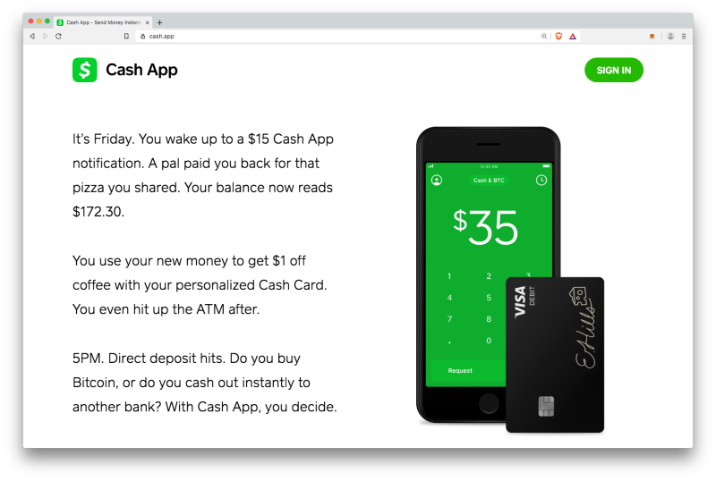 CashApp crypto exchange