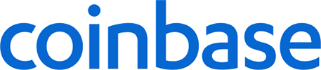 Coinbase crypto exchange logo