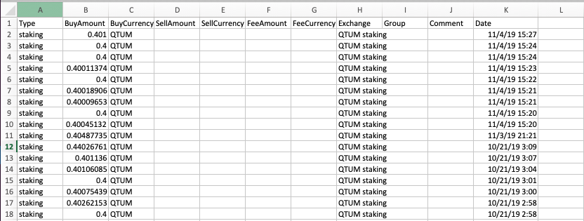 TokenTax staking example