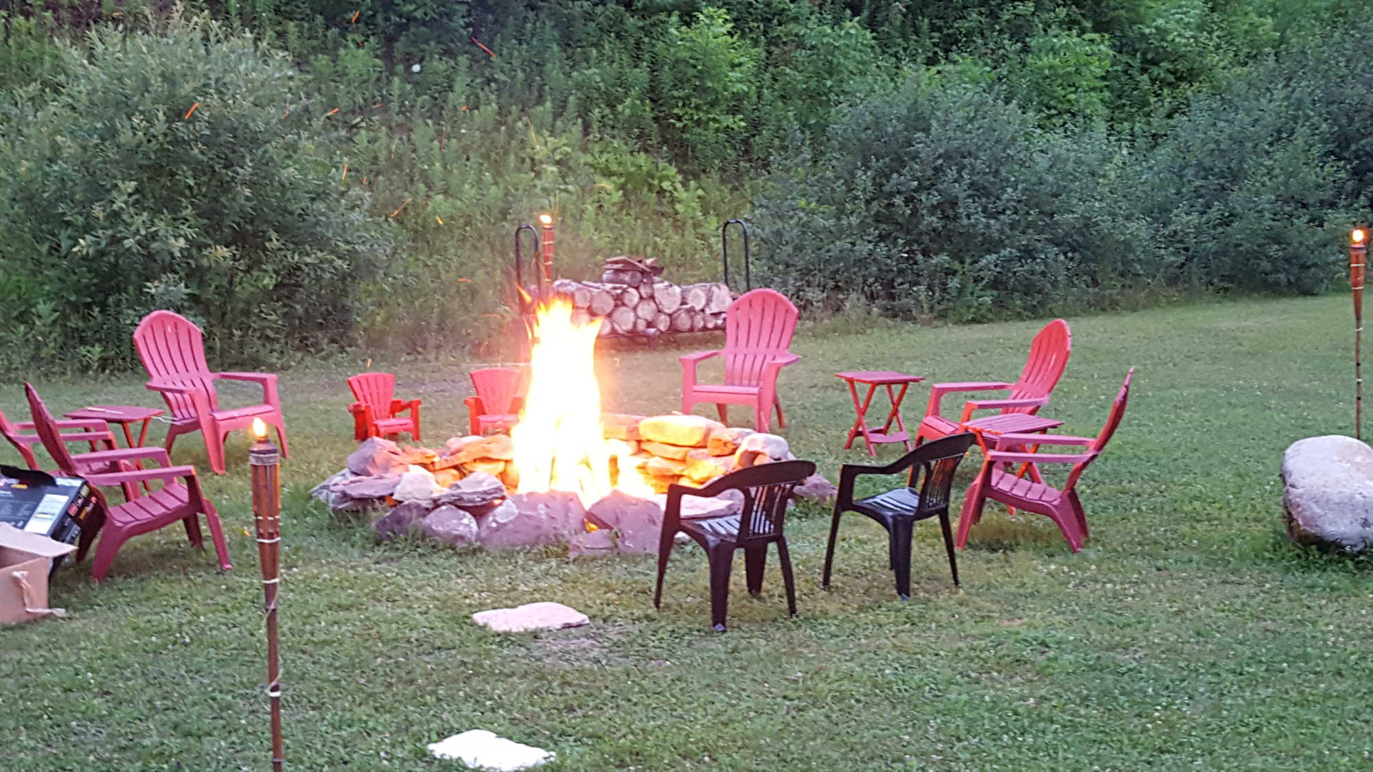 Tug Hill Resort - Enjoy stories by the campfire!