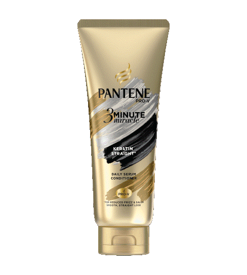 Pantene Keratin Straight 3 Minute Miracle Conditioner