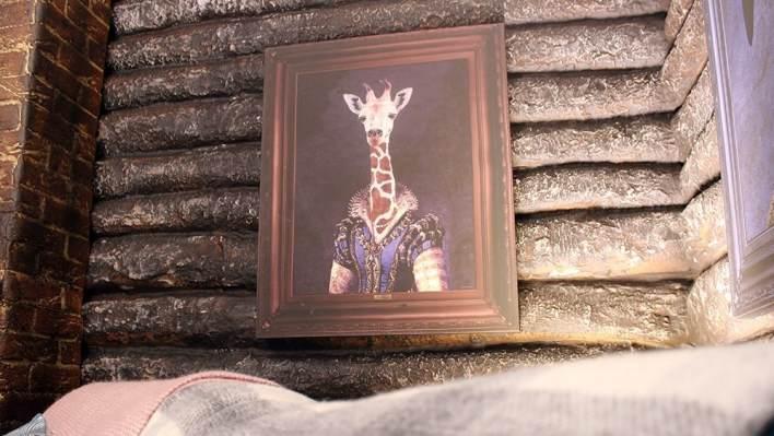 Art in Kem's Cabin