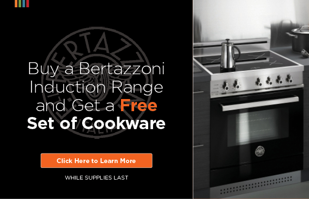 Bertazzoni Free Cookware Promotion