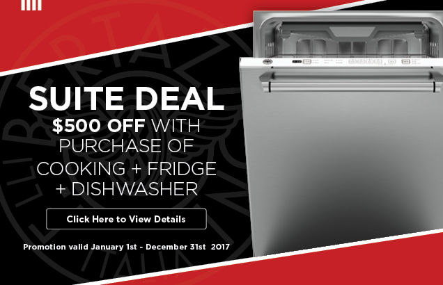 Bertazzoni Kitchen Suite Promotion