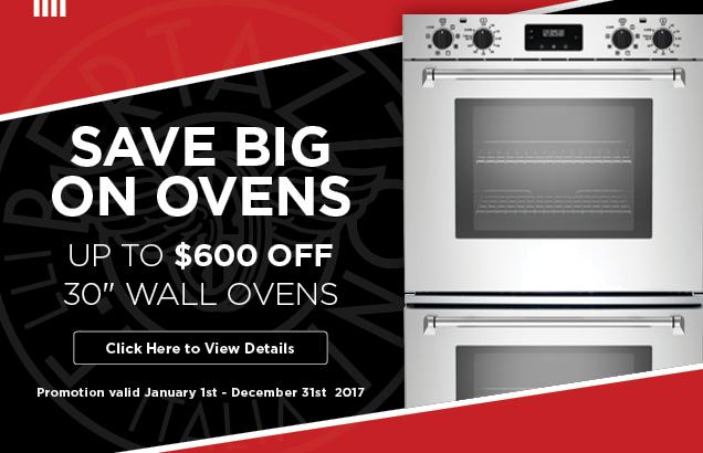 Bertazzoni Wall Oven Promotion