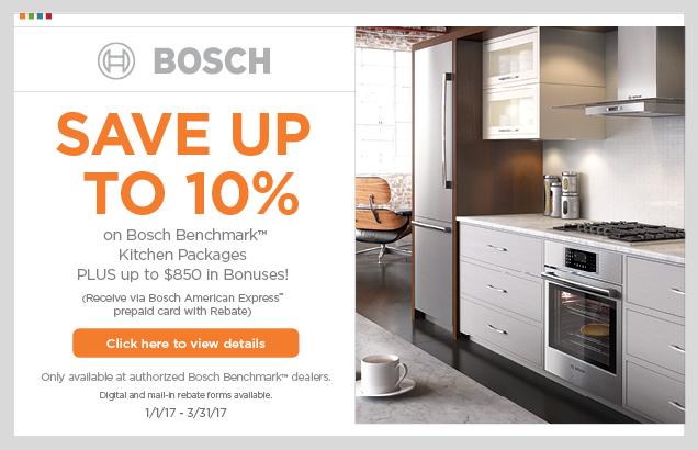 Bosch Benchmark Kitchen Packages