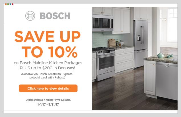 Bosch Mainline Kitchen Packages