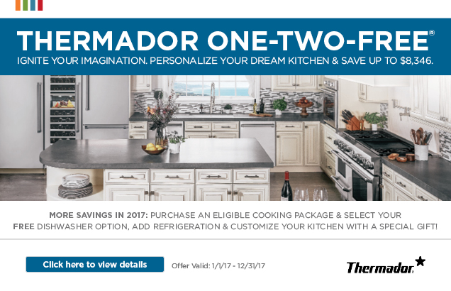 ... Thermador 1 2 FREE Promotion · FREE Kitchen Machine Promo