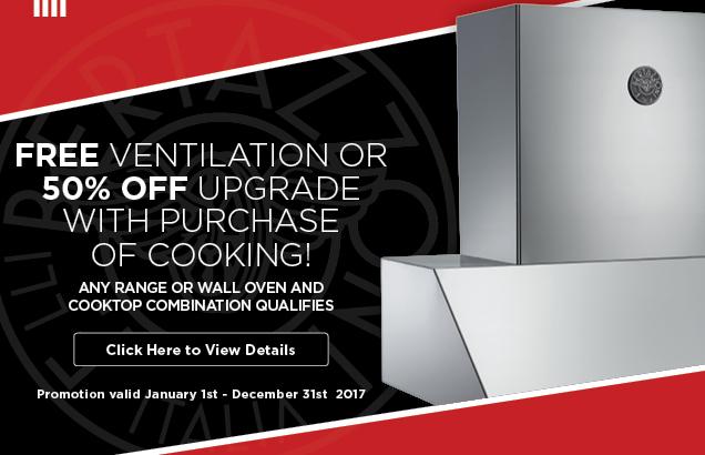 Bertazzoni Free Ventilation Promotion