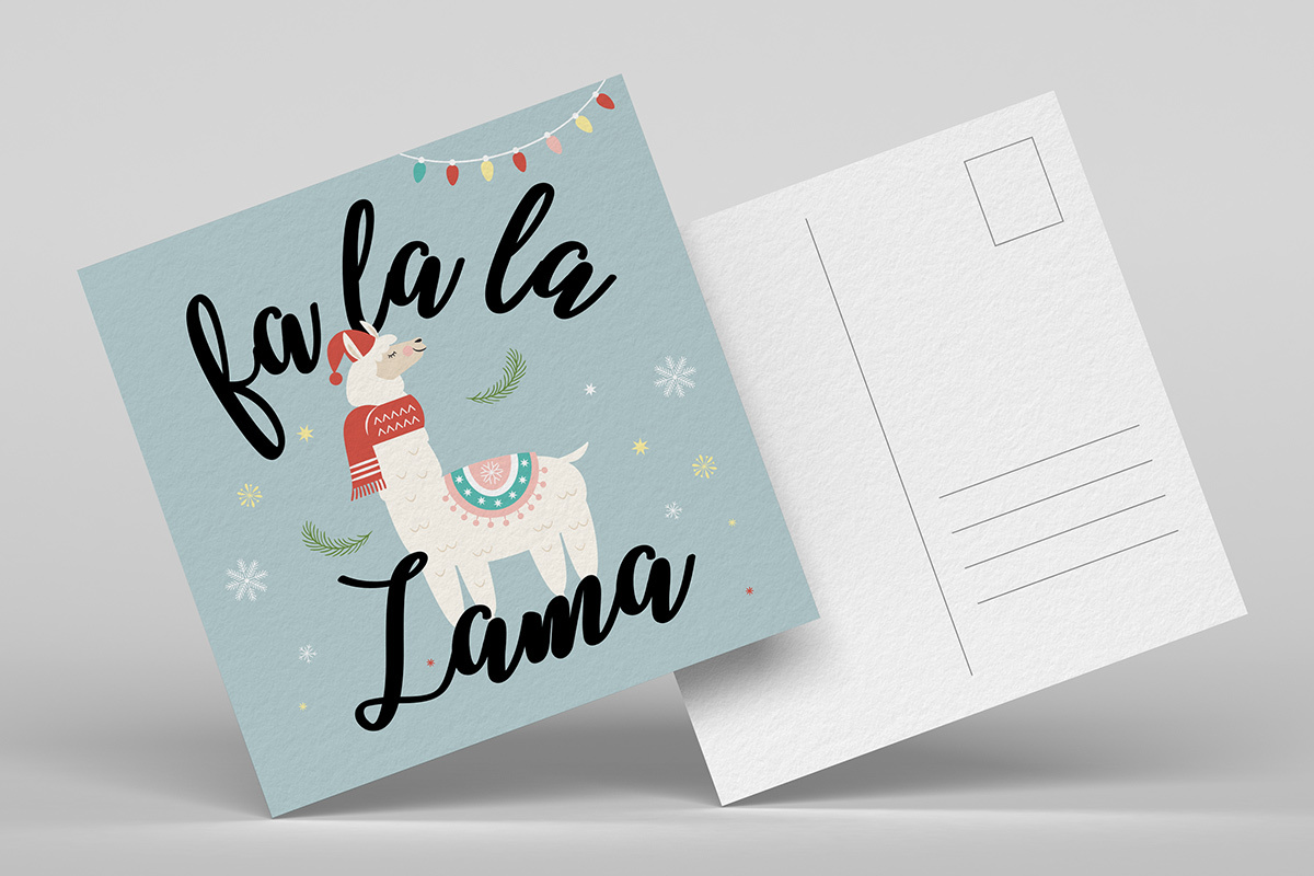 featured kerstkaarten-templates-handletteren card-5
