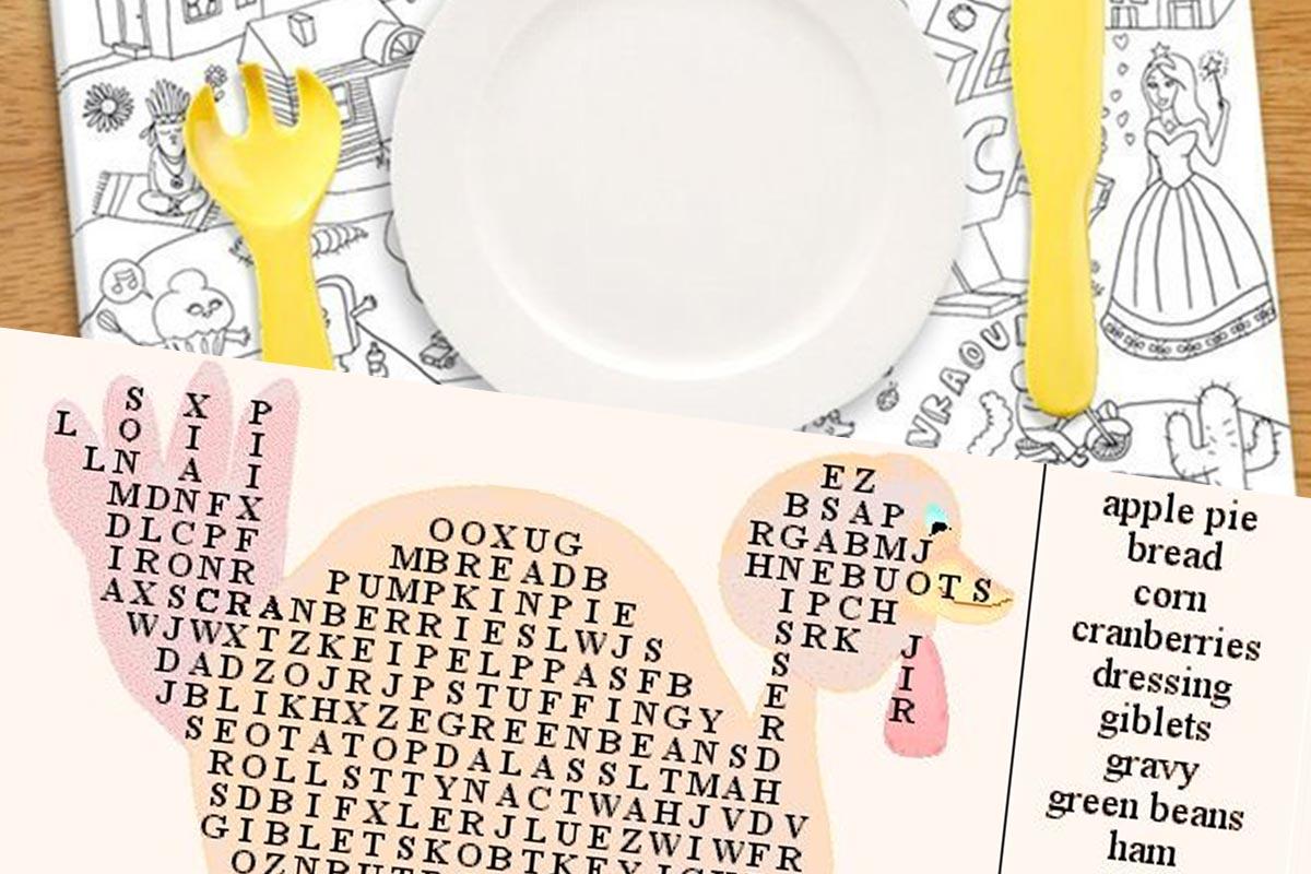 Placemats Bedrukken 8 Creatieve Ideeen Drukwerkdeal Nl